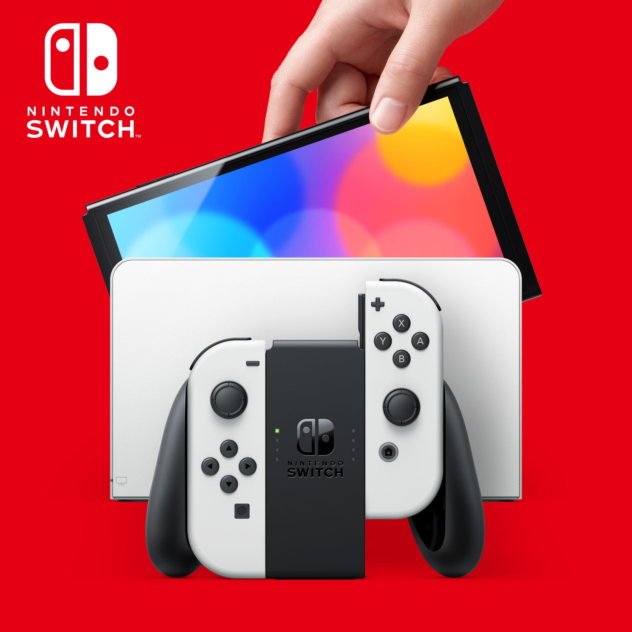 La plus grande amélioration de la nouvelle Nintendo Switch (Modèle OLED) est au niveau de l'écran qui offrira des couleurs plus vives et un meilleur contraste