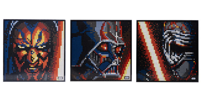 Passez du côté obscur de la Force avec LEGO Art The Sith (31200)