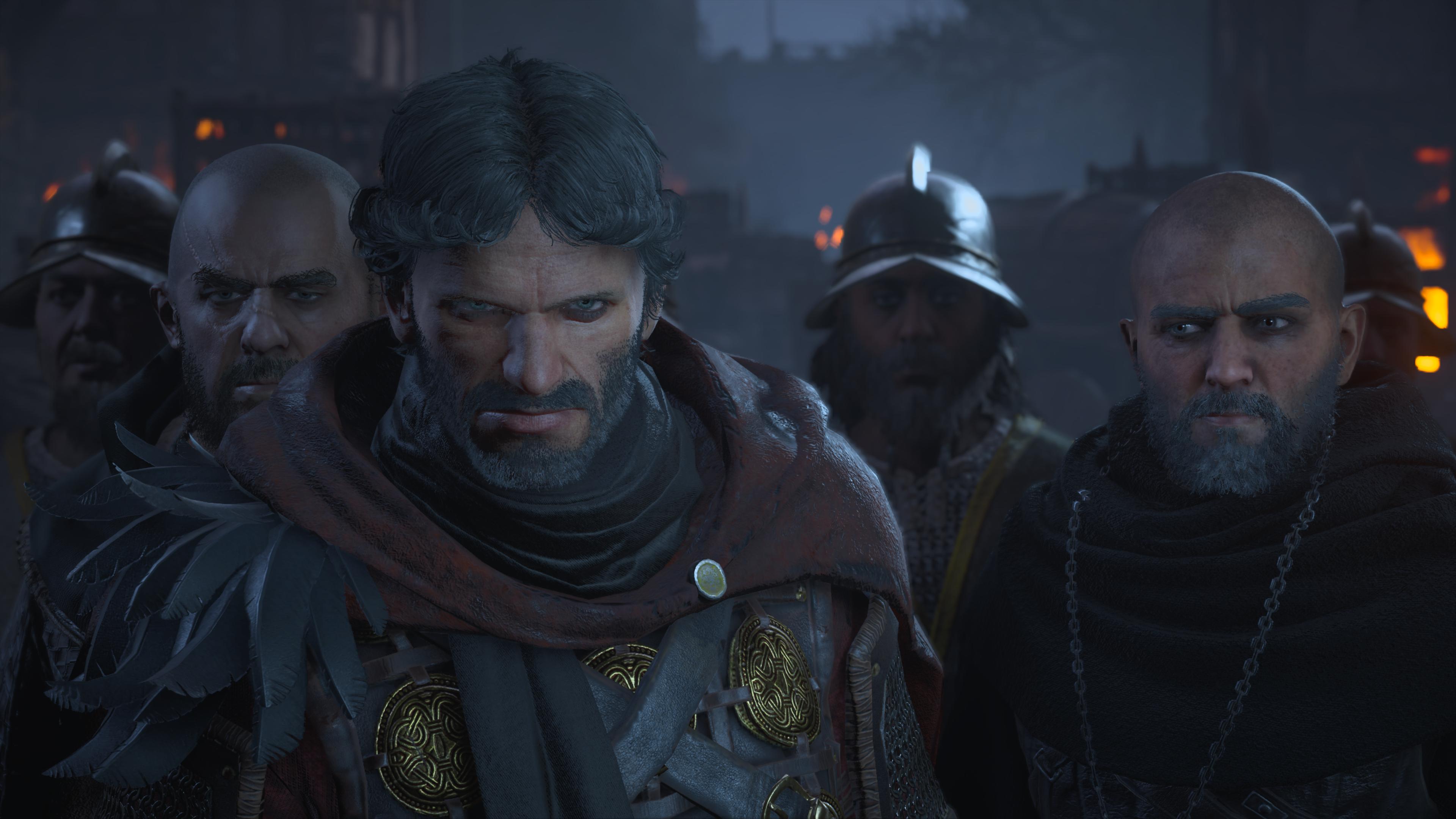 Les nobles de la cité de Paris ne voient pas d'un bon oeil cette invasion de ces barbares du Nord