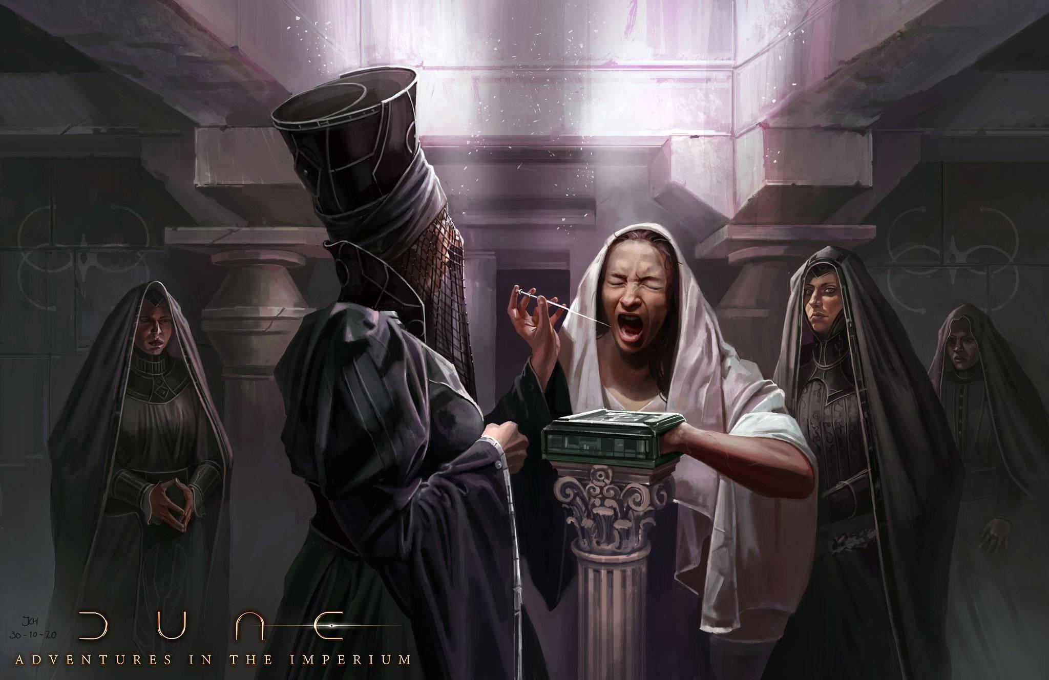 Les soeurs du Bene-Gesserit.