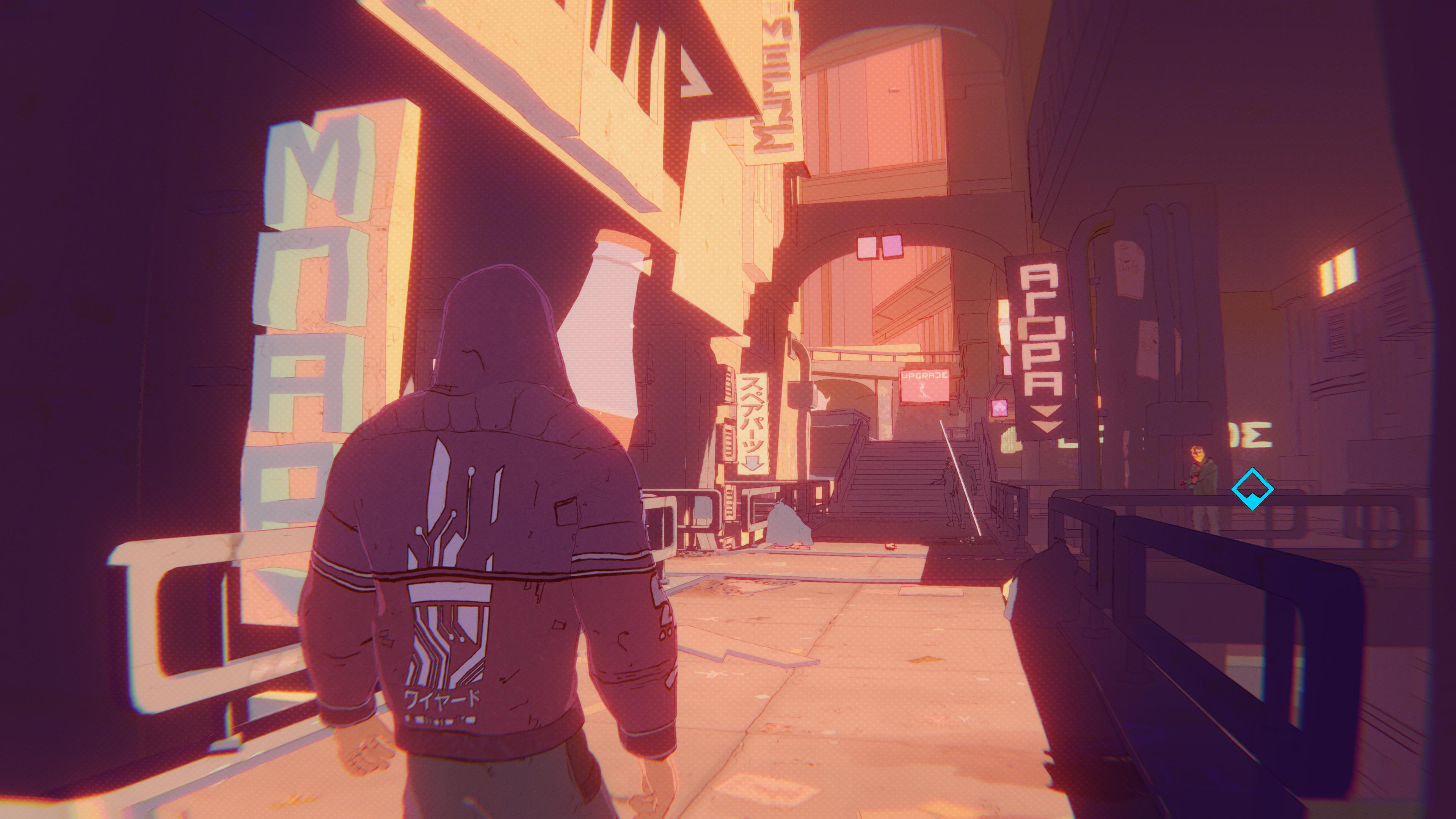 Le jeu vous mènera des hauteurs brillantes de la cité à ses tréfonds les plus obscurs