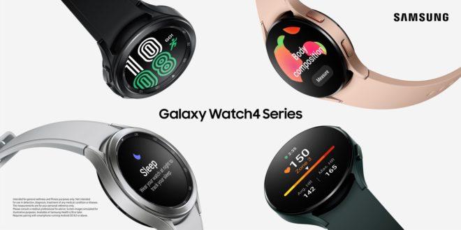 Galaxy Watch4, les nouvelles montres connectées de Samsung