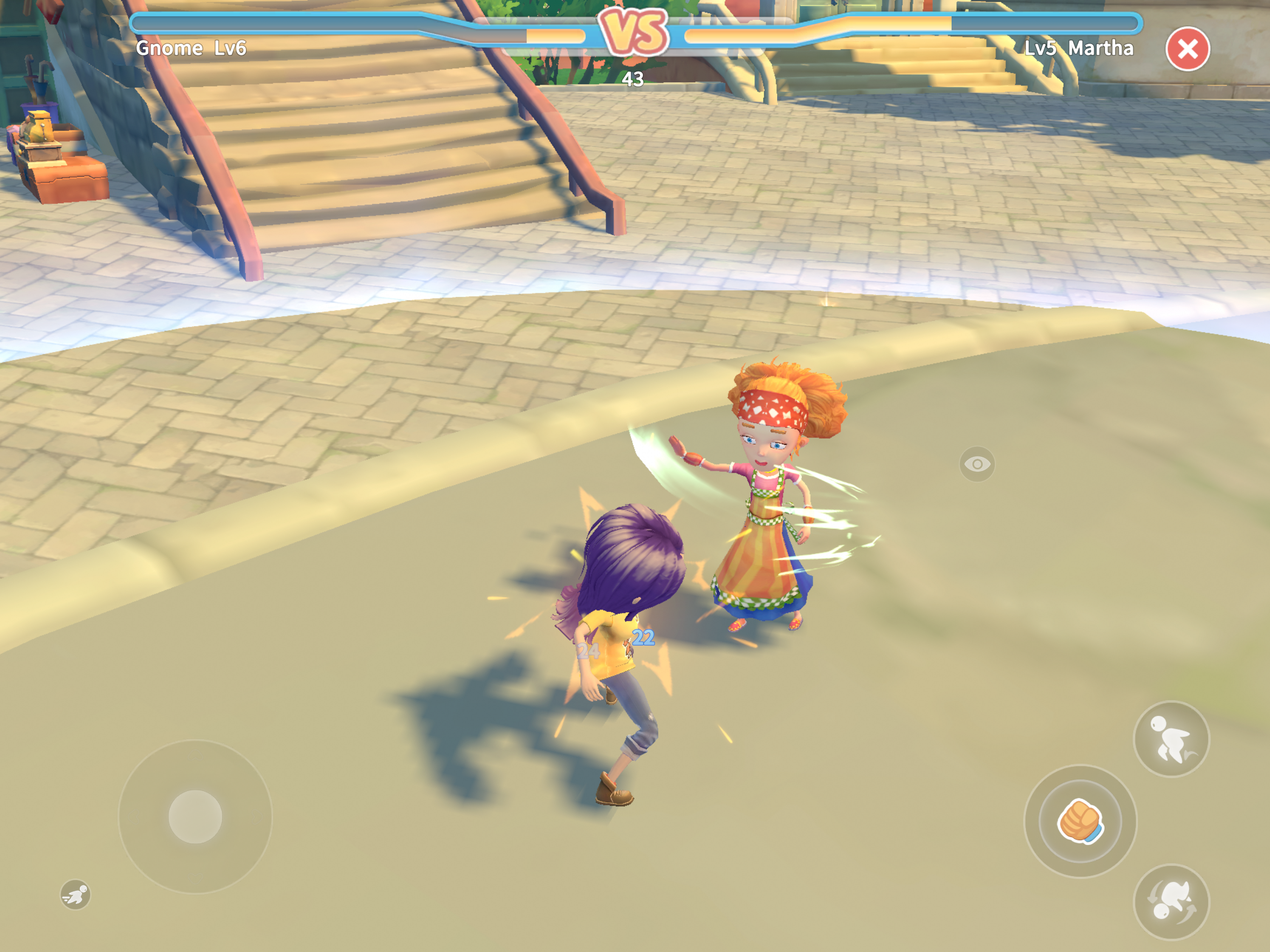 My Time at Portia_Duel