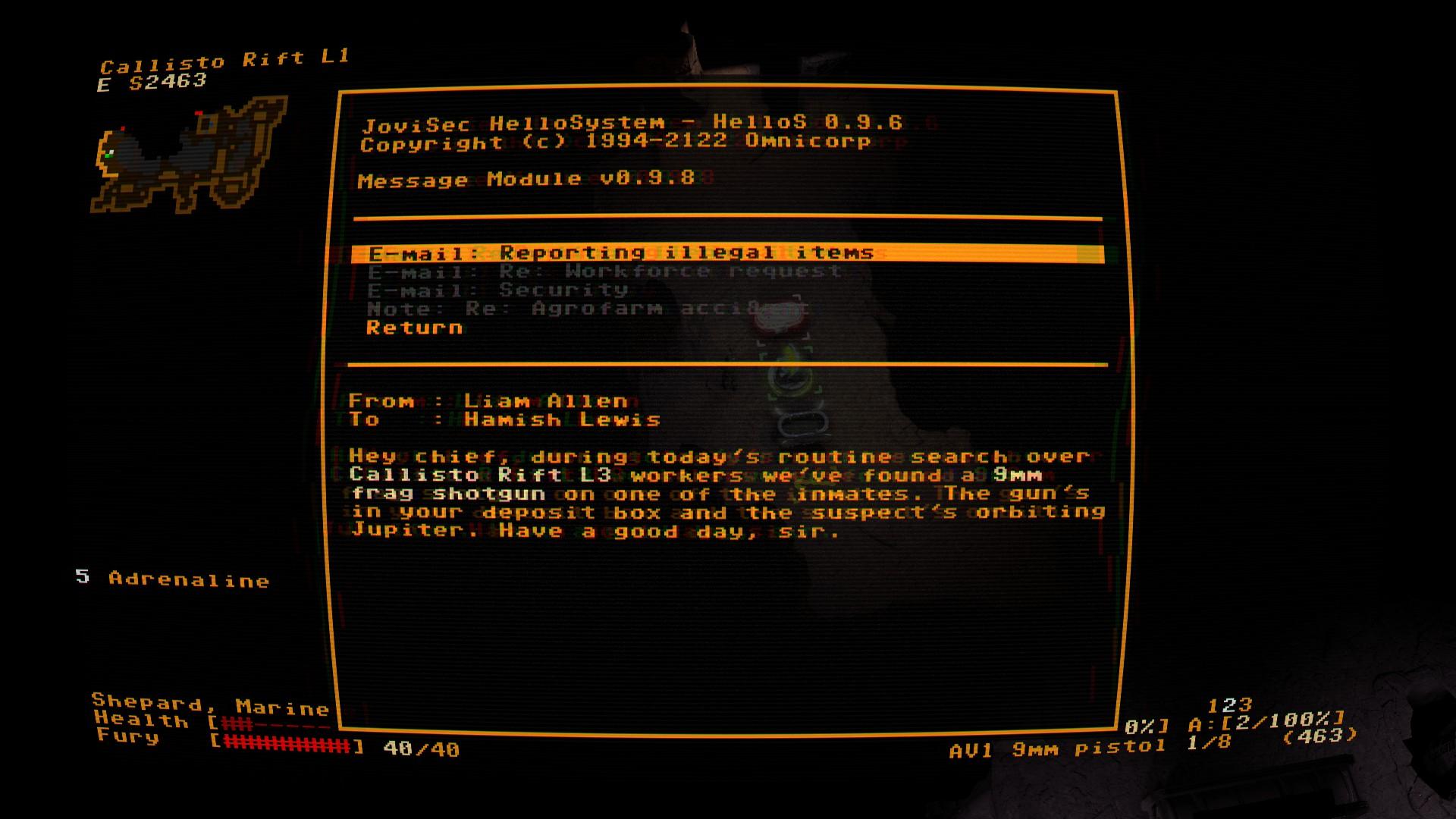 Les terminaux informatiques sont le meilleur outil de l'ingénieur qui pourra utiliser les défenses internes à son avantage