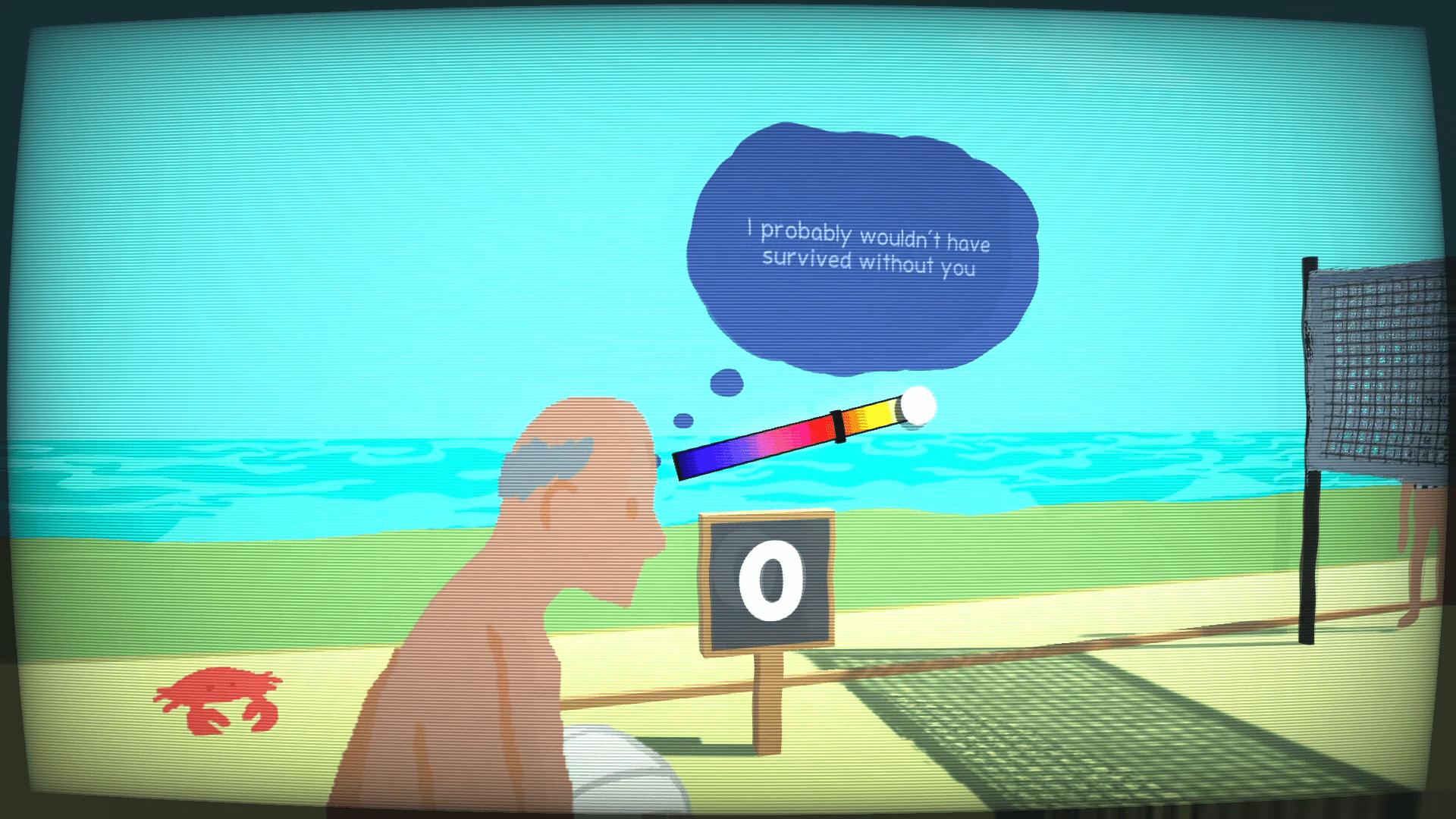 Le jeu contient autant d'action que d'introspection, aussi surprenant que cela puisse paraître...