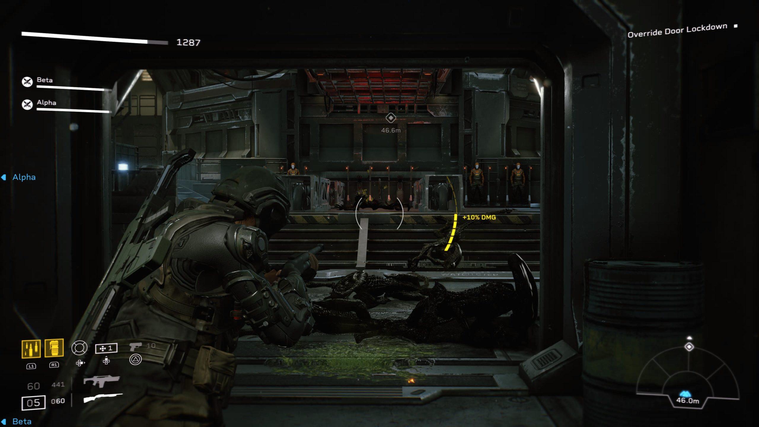 Les corridors de la station seront jonchés des restes de vos ennemis après un combat