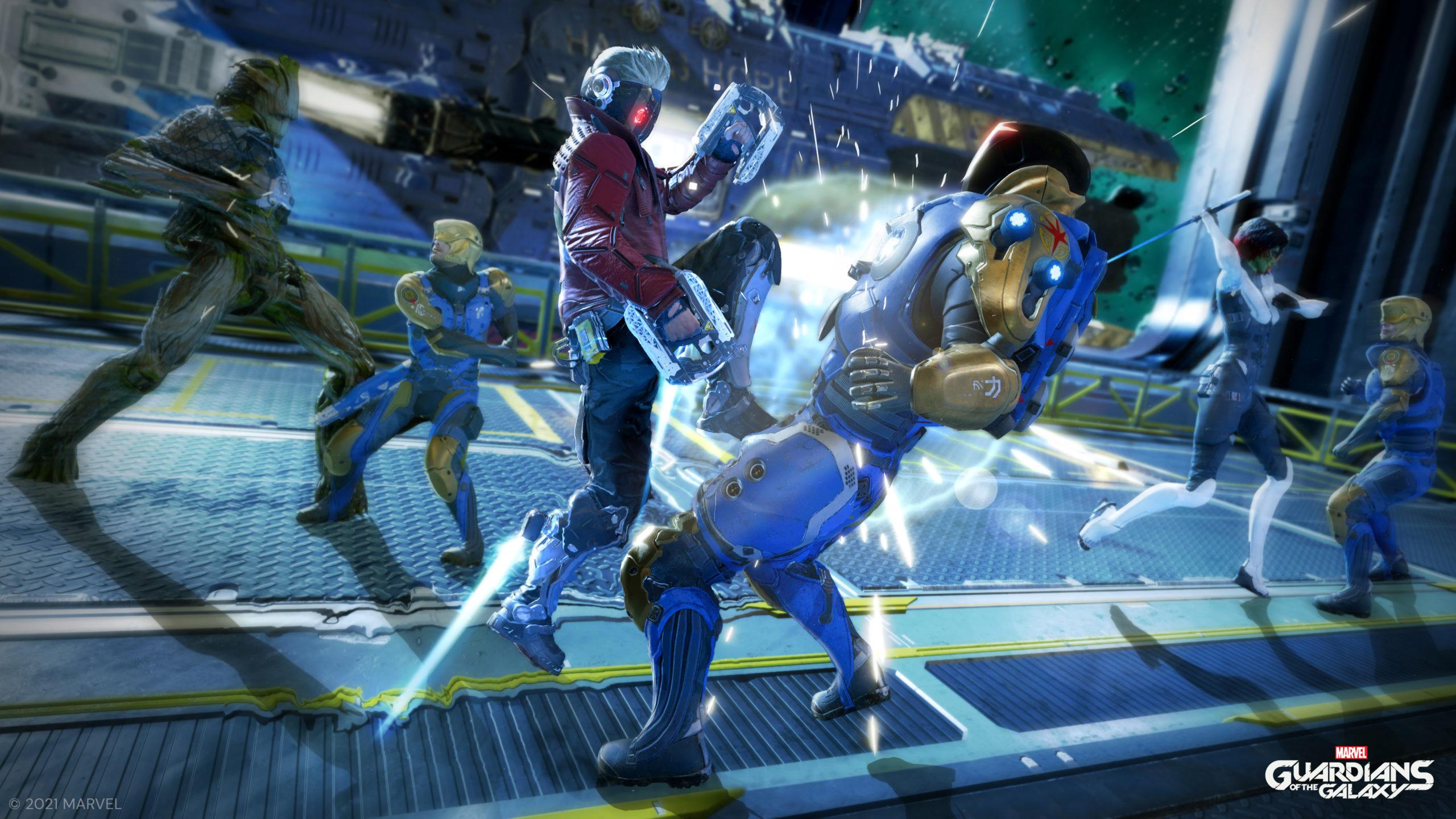 Lorsqu'un des Gardiens effectue une attaque spéciale, c'est un véritable ballet d'action que l'on a droit!
