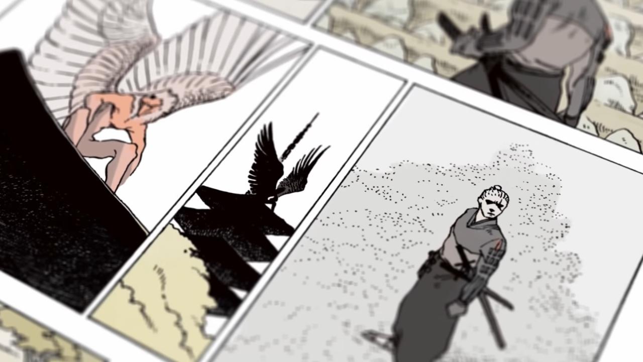 La bande-dessinée comportera une centaine de pages, tout en couleurs et divisées en quatre sections