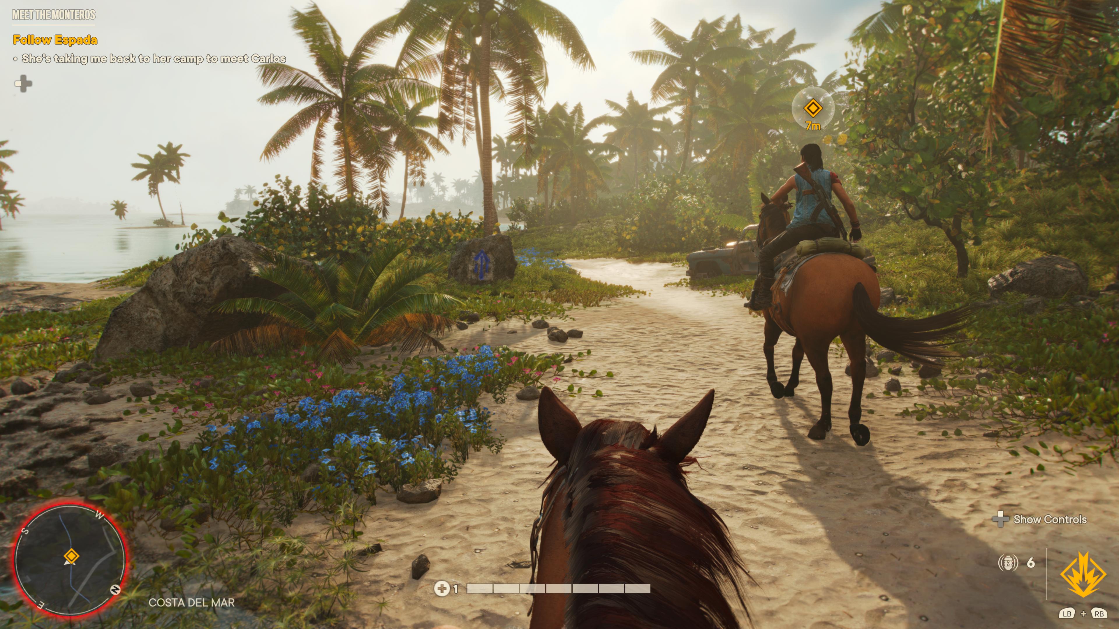 Grimpez à dos de cheval afin d'explorer les décors paradisiaques de Yara
