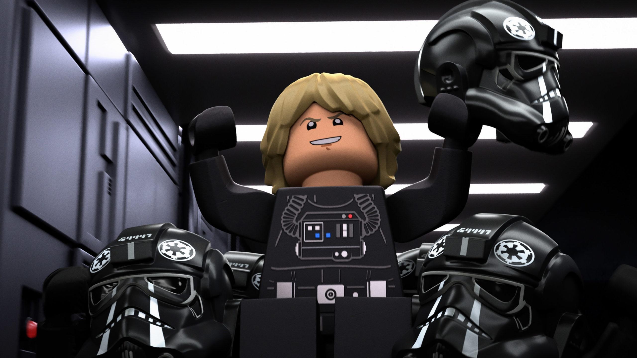 Un des segments du spécial montre une trame narrative alternative où Luke rejoint le côté obscur
